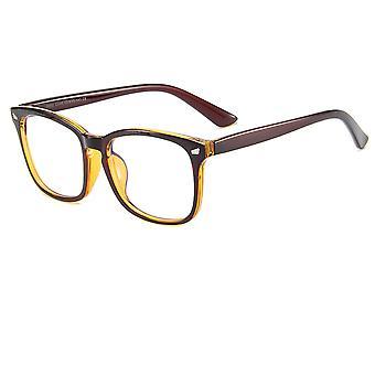 Óculos com óculos caso Óculos planos Vision com óculos anti-azul de moldura de 2 peças conjunto