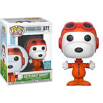 Peanuts Astronaute Snoopy SDCC 2019 US Excl Pop! Vinyle