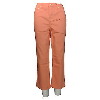 C. Wonder Women's Jeans 5-Pocket Slim Leg Crop Length Pink A275164