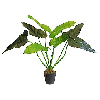 60cm Artificial Taro Evergreen Plant