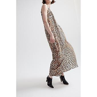 Vestido De Lindsay Nicholas NY Maxi en Leopard