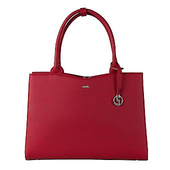 SOCHA Women's Handbag Straight Line 44 cm, Red