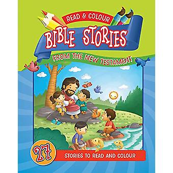 Read & Colour Bible Stories from the New Testament - 978178893124