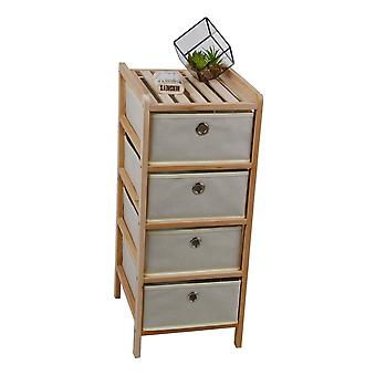 Corine Färg Beige låda, Trä trä 29x33x70 cm