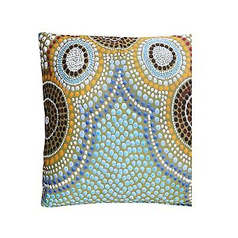 Oceans Bay Aboriginal Design Cushion Cover