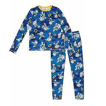 Sonic the Hedgehog 2-Piece Isolante Warm Pajama Set