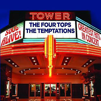 Four Tops & the Temp - Soul Alive! Greatest [CD] USA import