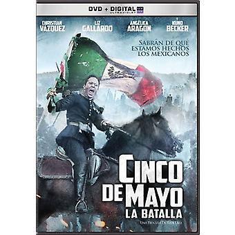 Cinco De Mayo-La Batalla [DVD] Yhdysvallat tuoda