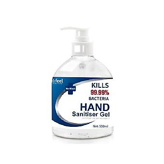 Relifeel Instant Hand Sanitiser Gel Alcohol Quick Dry 500Ml No Wash