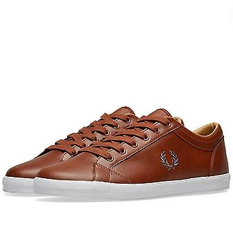 Fred Perry Men's Baseline Leather Trainers B3058-448