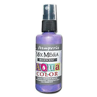 Stamperia Aquacolor Spray 60ml Iridescent Lilac