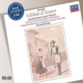 G. Donizetti - Donizetti: Importación de USA de elisir d ' Amore [CD]