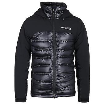 Columbia Heatzone 1000 Titanium Turbo svart hette jakke