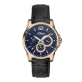 s. Oliver SO-15149-LMR Men's Watch