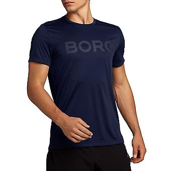 Bjorn Borg Mens 2020 Astor Tee Crew Neck Short Sleeve T-Shirt