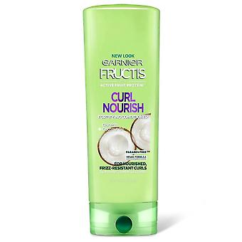 Garnier fructis curl nourish fortifying conditioner, 12 oz *