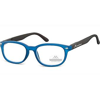 Läsglasögon Unisex Rektangulär Blå Styrka +1,50 (box70)