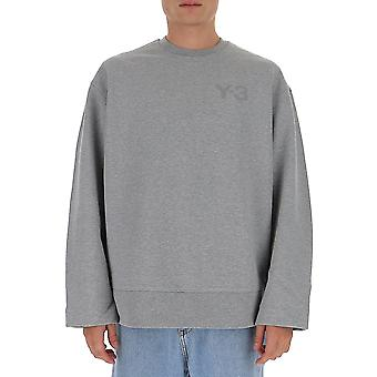 Y-3 Gk4500m Männer's grau Baumwolle Sweatshirt