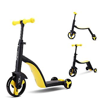 Children Scooter Tricycle - 3 In 1 Toddler Balance Bike