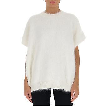Fabiana Filippi Mad220b707d067061 Women's White Wool Sweater