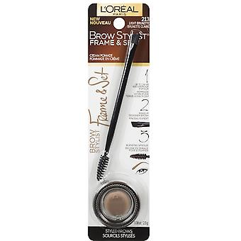 L'Oreal Paris Brow Stylist Plumper Brow Gel Mascara