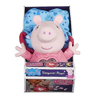 Peppa Pig Sleepover Peppa Plush Set
