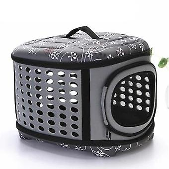 Dog Carrier Bag Portable Handbag, Foldable Travel Pet Bag - Puppy Carrying Mesh