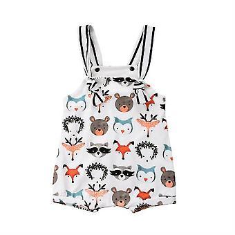 Newborn Kids Animals Shape Romper Jumpsuit Outfit