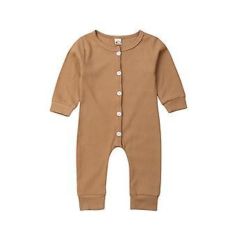Fahsion Pasgeboren & Lange Mouw Romper, Bodysuit / Jumpsuit / Playsuit Outfit