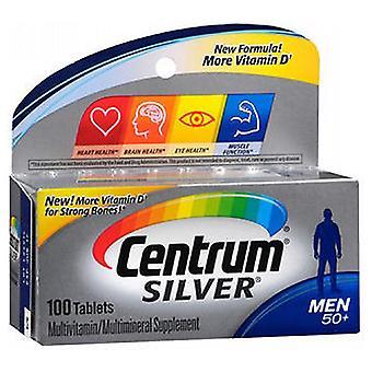 Comprimés multivitamines/multiminérals Centrum Silver Ultra Mens, 100 onglets