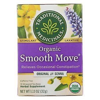 Traditional Medicinals Teas Organic Smooth Move Tea, 16 bags