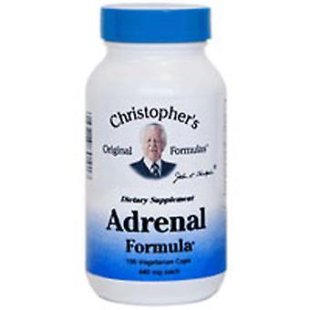Dr. Christophers Formulas Adrenal Formula, 100 Vegicaps