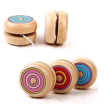 Yoyo Wooden, Classic, Ball Spin Professional Classic  For Child