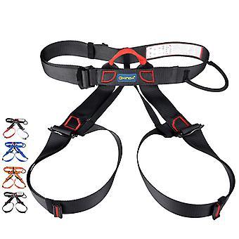 מקצועי ספורט חוצות חגורת בטיחות טיפוס צוקים ציוד רתמה תמיכה מותניים חצי רתמות גוף הישרדות אווירית