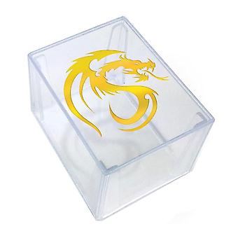 BCW Deck Keeper Box Holds 100 Cards (Clear)