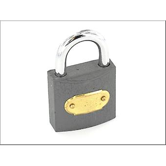 Securit Tri Iron Padlock Brass Cylindre 63mm S1123