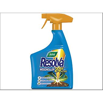 Westland Resolva 24h Weedkiller Ready to Use 1L