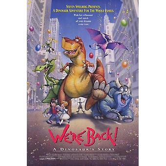 Were Back A Dinosaurs Story Movie Poster Print (27 x 40)