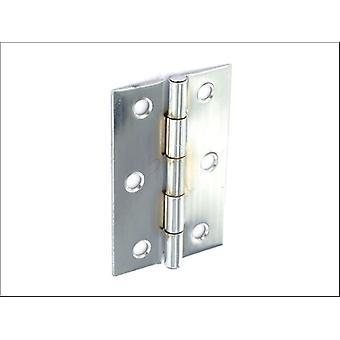 Securit Acero Bisagras A latón chapado 75mm S4305