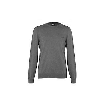 Hugo Boss Botto-l Cotton Slim Fit Grey Sweater