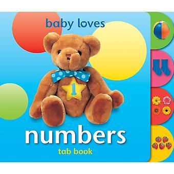 طفل يحب أرقام الكتب التبويب من تصميم أنجيلا هيويت