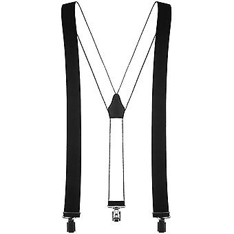 Shenky - suspenders in Y-shape - with 3 very robust clips