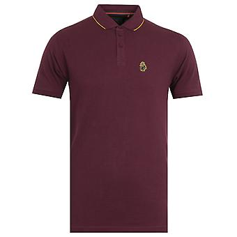 Luke 1977 Ricky Gold Tipped Shiraz Polo Shirt