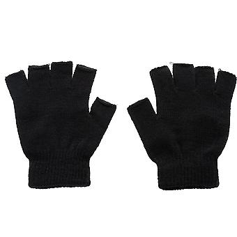 New Knitted Fingerless Autumn/winter Outdoor Stretch Elastic Warm Half Finger
