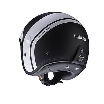 Caberg Freeride Mistral Scooter Motorcycle Helmet Matt Black White