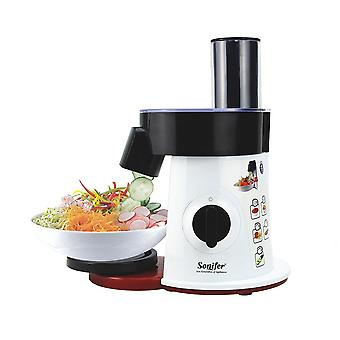 Food Processor Vegetable Cutter Round Electric Slicer Grater Potato Carrot