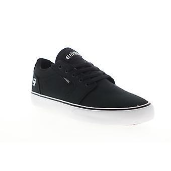 Etnies Division Vulc  Mens Black Skate Inspired Sneakers Shoes