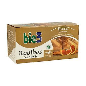 Rooibos Tea ja Orange 25 infuusiopussit