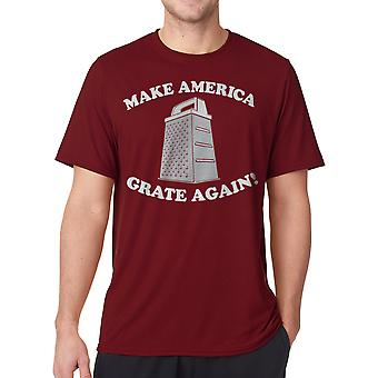 Humor Grate Again Men's Cardinal Red Funny T-shirt