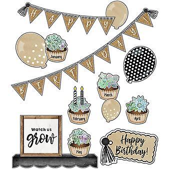 Simply Stylish Birthday Bulletin Board Set